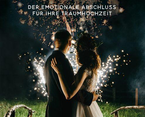 Feuerwerk für Hochzeit